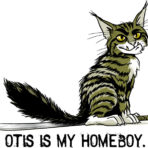 Otis is My Homeboy t-shirt